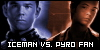 X-Men - Relationships - Iceman vs. Pyro:
